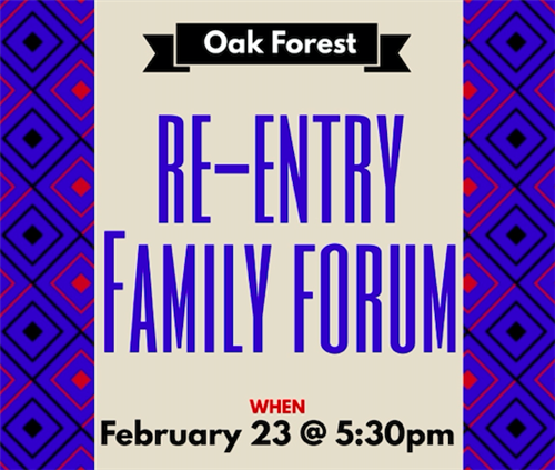 Re-entery Family Forum