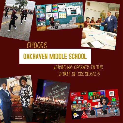 Choose Oakhaven Middle School Flyer 1