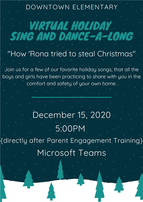 Virtual Holiday Sing and Dance-A-Long