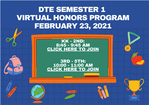 DTE Semester 1 Honors Program