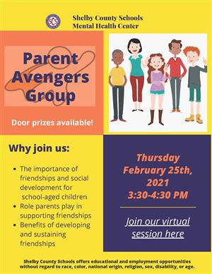 Parent Avenger Group English
