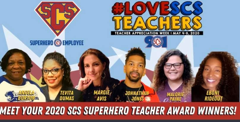 2020 SCS SuperheroTeacher Award Winner, Mrs. Angela Burton