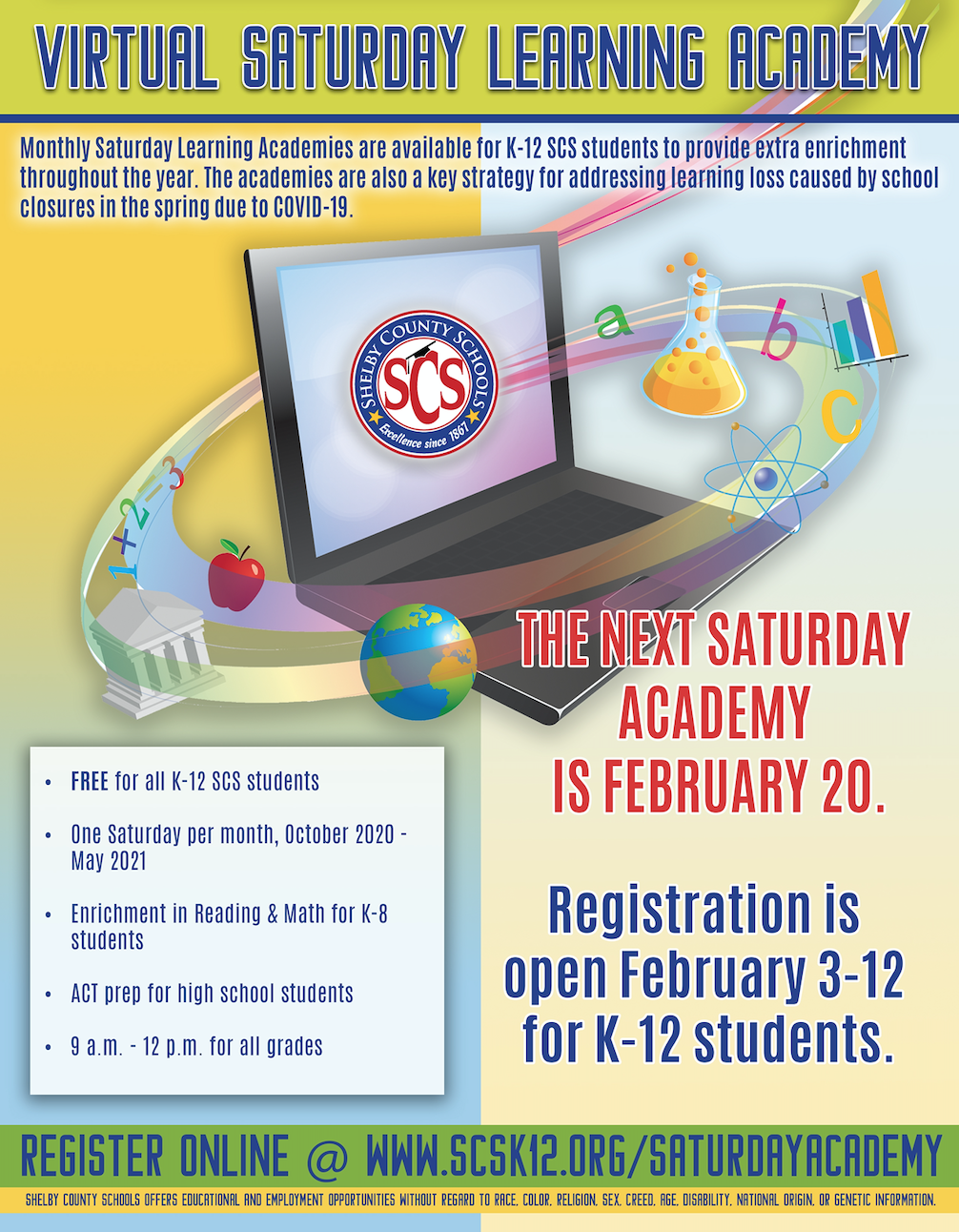 February Virtual Learning Academy