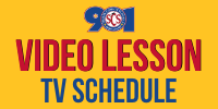 Video Lesson Schedule on TV