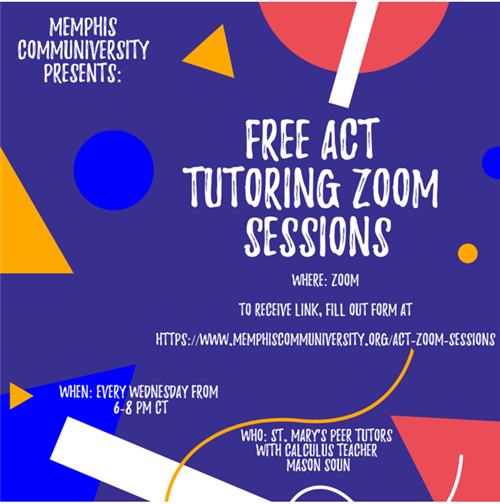 Free ACT Tutoring Zoom Sessions