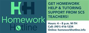 Homework Hotline 901-416-1234