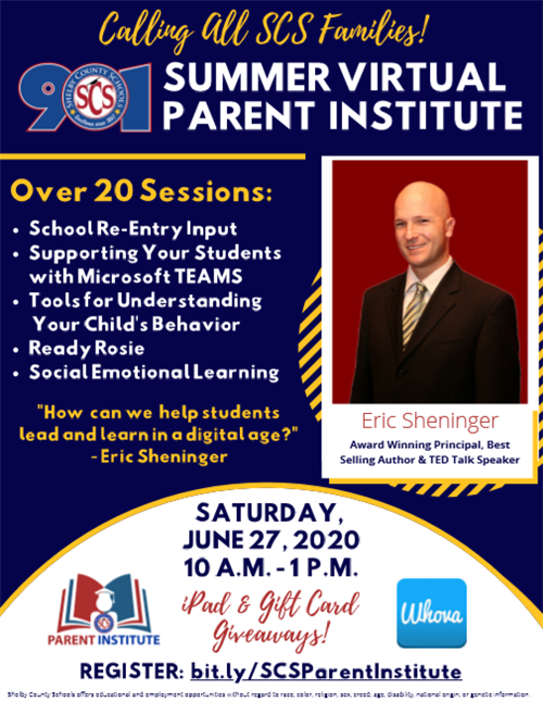 Summer Virtual Parent Institute