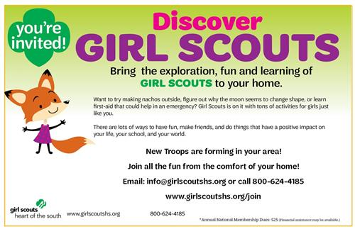 Girl Scout Flyer