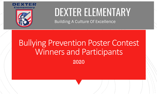 Bullying Prevention Poster Contest