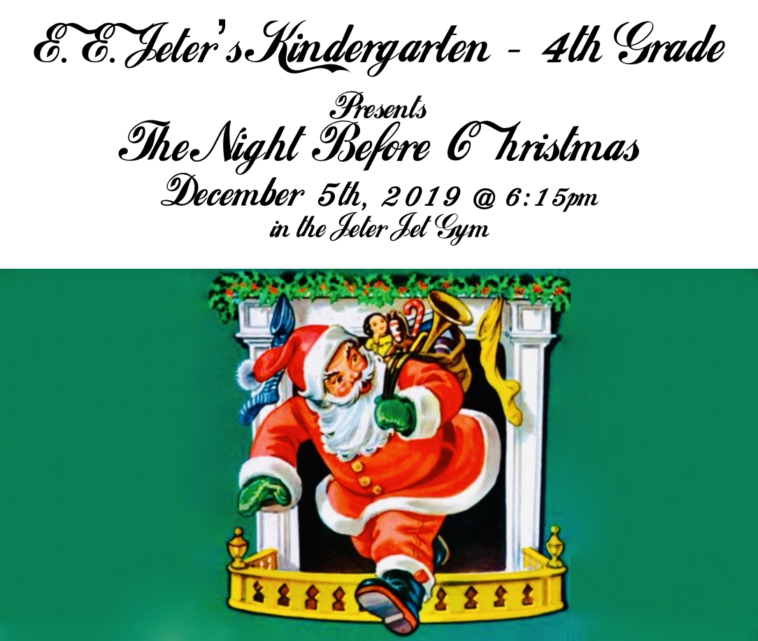 K-4 Christams Concert Flyer