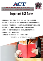 ACT Facts