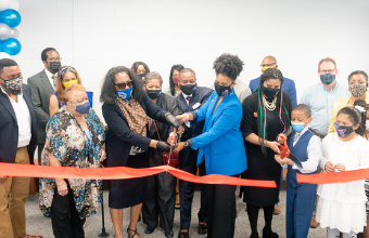 SCS Holds Ribbon Cutting Ceremony for New 21st Century Elementary School