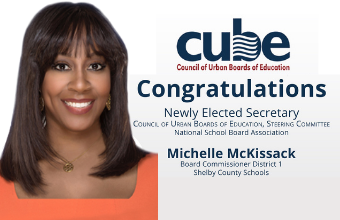 SCS Board Member Michelle McKissack Named Secretary of National Organization, CUBE