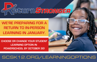 Choose or Change Student Learning Options by October 30