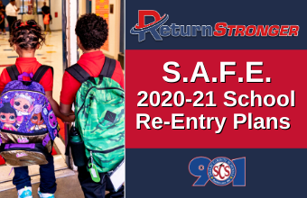 Starting Virtual. Staying Safe.: Get Facts about the District's S.A.F.E. Plan for 2020-21