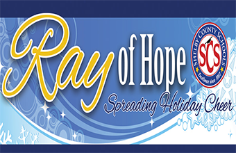 2nd Annual Ray of Hope: SCS Superintendent Delivers Holiday Cheer