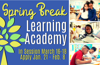 Spring Break Learning Academy