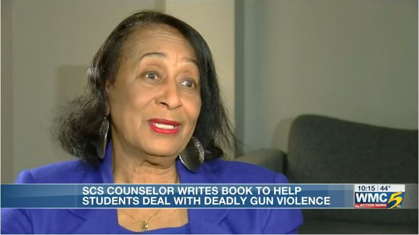 A MUST read from our own Counselor Bradley! SCS counselor writes children's book hoping to help students cope with gun violence