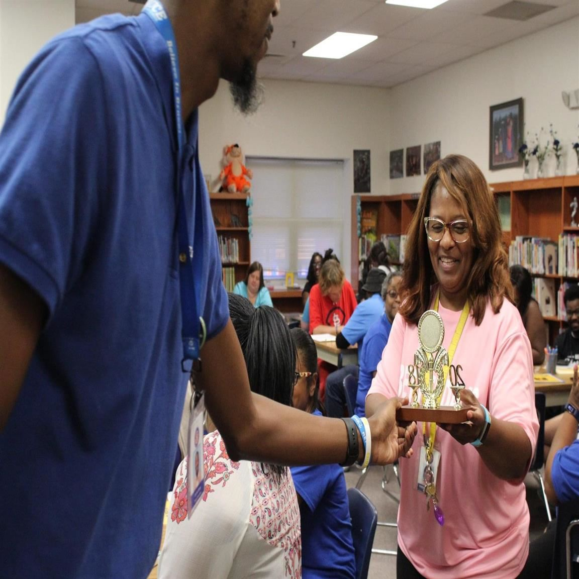 Deborah Overall of Bruce Elementary School is a Tennessee Lottery Educator of the Week