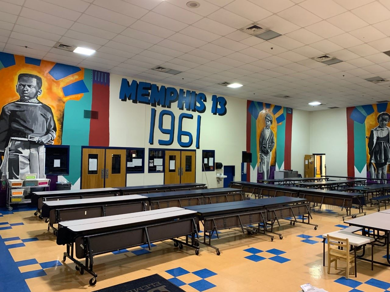 Bruce Elementary celebrates 'Bruce 3' trailblazers with mural, ceremony