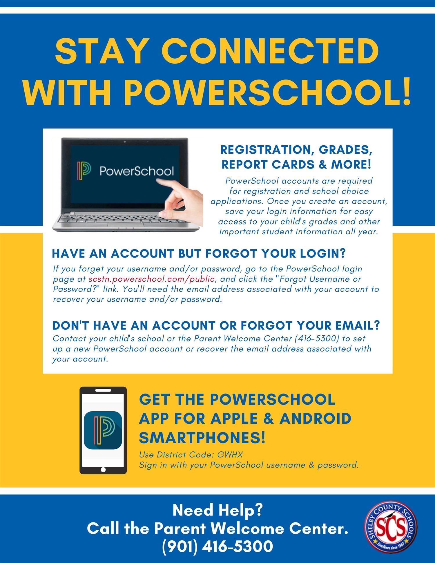 How to access powerschool