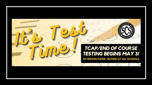 It's Test Time