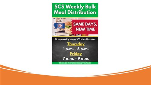 New Grab n Go Meal Times