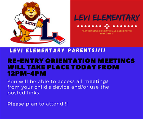 Re-entry orientation meetings